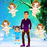 Free online flash games - Visiting Christmas Angels Escape game - WowEscape