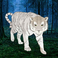 Free online flash games - White Tiger Escape game - WowEscape