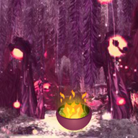 Free online flash games - Wow Crystal Forest Escape game - WowEscape