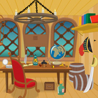 Free online flash games - Wow Pirates Ship Escape game - WowEscape