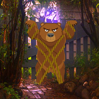 Free online flash games - WowEscape Bear from Garden game - WowEscape