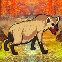 Free online flash games - WowEscape Save the Hyena game - WowEscape