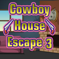 Free online flash games - Cowboy House Escape 3 game - WowEscape