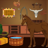Free online flash games - Cowboy House Escape game - WowEscape