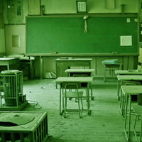 Free online flash games - Desolate School Escape game - WowEscape