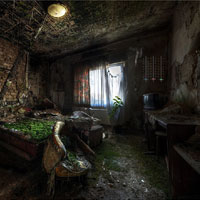 Escape from Abandoned Rooms