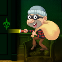 Free online flash games - Escape the Thief from Abandoned House game - WowEscape