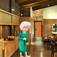 Free online flash games - Grandma In Search of Grandson game - WowEscape