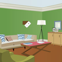 Free online flash games - Greeny House Escape game - WowEscape