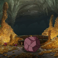 Free online html5 games - Honey Golden Cave Escape game