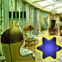 Free online html5 games - Luxury Christmas  Star House Escape game