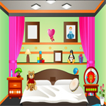 Free online flash games - Mini Escape-Kids-Bed Room game - WowEscape