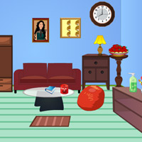 Free online flash games - Mini Escape-Living Room game - WowEscape