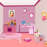 Free online flash games - Mini Escape-Pink Room game - WowEscape