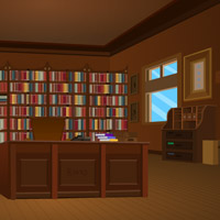 Free online flash games - My Library Escape game - WowEscape