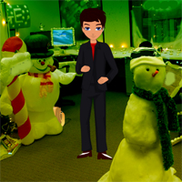 Free online flash games - New Year Office Party Escape game - WowEscape