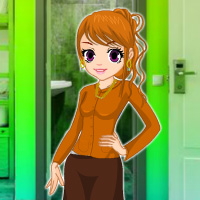 Free online flash games - Rescue Girl from Hostel Restroom game - WowEscape
