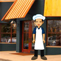 Free online flash games - Save The Chef From Restaurant game - WowEscape