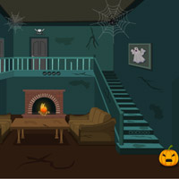 game name scary halloween house escape 2