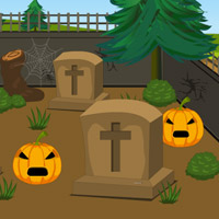 game name scary halloween house escape 5