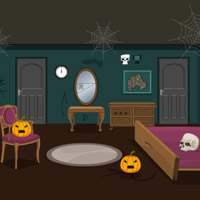 Scary Halloween House Escape 6 game info at wowescape.com