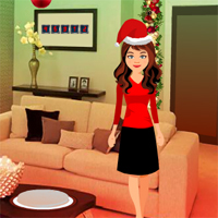 Free online flash games - Way to Christmas Night game - WowEscape