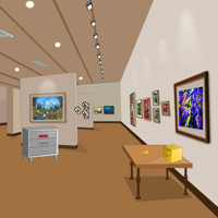 Free online flash games - Wow Art Gallery Escape game - WowEscape