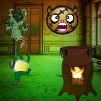 Free online flash games - Escape from Halloween Monster Mansion game - WowEscape