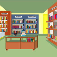 Free online flash games - Wow Library Escape game - WowEscape