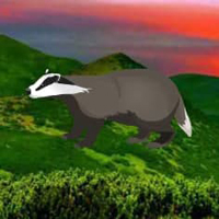 Free online html5 games - Badger Mountain Escape HTML5 game
