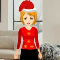 Free online html5 games - Christmas house party girl escape game