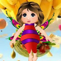Free online html5 games - Edible World Fairy Escape HTML5 game
