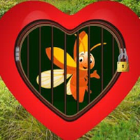 Free online html5 games - Love Golden Bee Escape HTML5 game