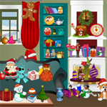 Free online flash games - Christmas Room Objects game - WowEscape