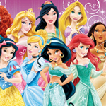 Free online flash games - Disney Princess Hidden Numbers game - WowEscape