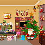Free online flash games - Hidden Objects Christmas Room game - WowEscape