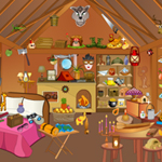 Free online flash games - Hidden Objects Hut game - WowEscape