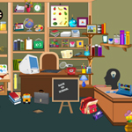 Free online flash games - Study Room Hidden Objects game - WowEscape