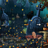 Free online flash games - 5nGames Halloween Ghost Escape game - WowEscape