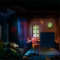 No Escape From Halloween Room Walkthrough
