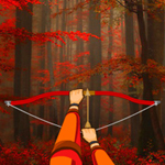 Free online flash games - Hidden Target Red Forest game - WowEscape