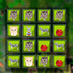 Free online flash games - Bomb Memory Animals game - WowEscape