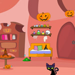 Free online flash games - Halloween Escape Abigail Lair game - WowEscape