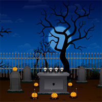 Halloween Graveyard Escape TollFreeGames