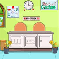Free online flash games - Clinic Escape