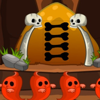 Free online flash games - G2M Steal the haunted treasure