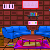 Free online flash games - Decorated Room Escape New