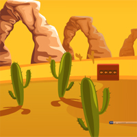 Free online flash games - Egyptian Desert Car Escape