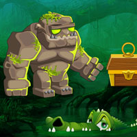 Free online flash games - G2R Escape the Stone Golem game - WowEscape
