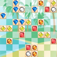 Free online flash games - GemIslands Mahjong game - WowEscape